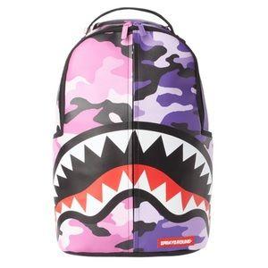 Sprayground Split Camo Backpack